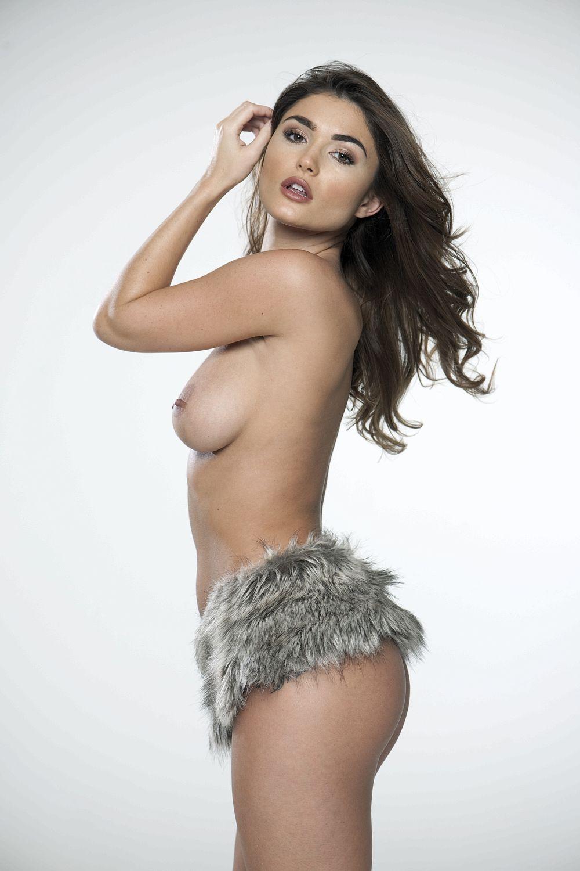 India Reynolds Topless Photo shoot
