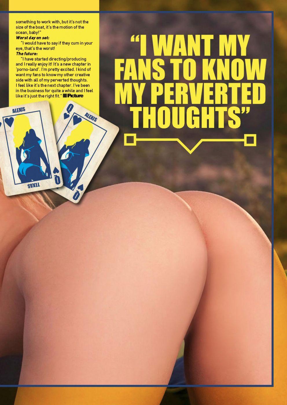 Alexis Texas Topless Photoshoot