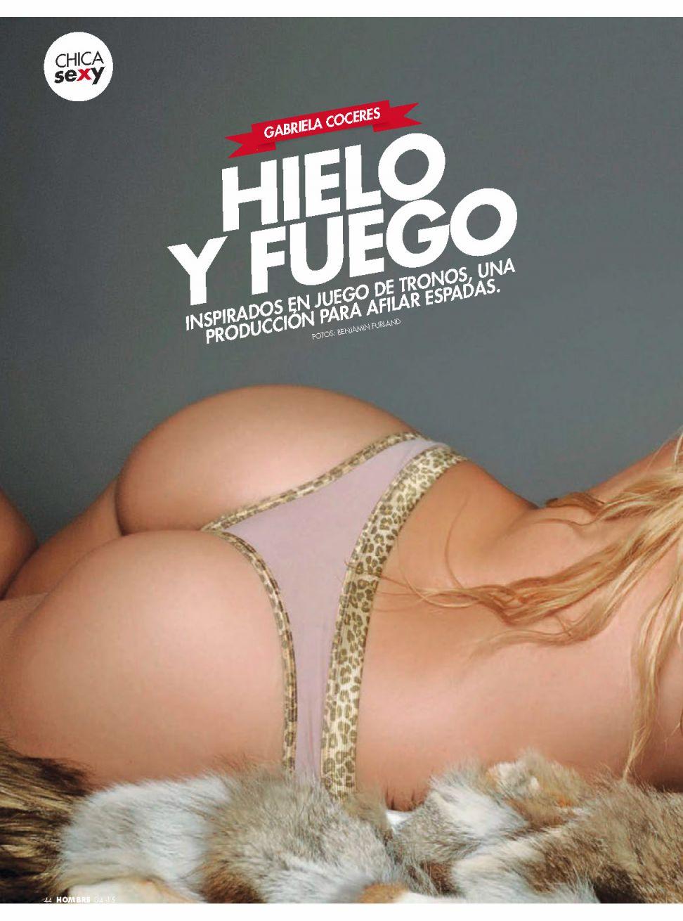 Gabriela Coceres Topless Photos