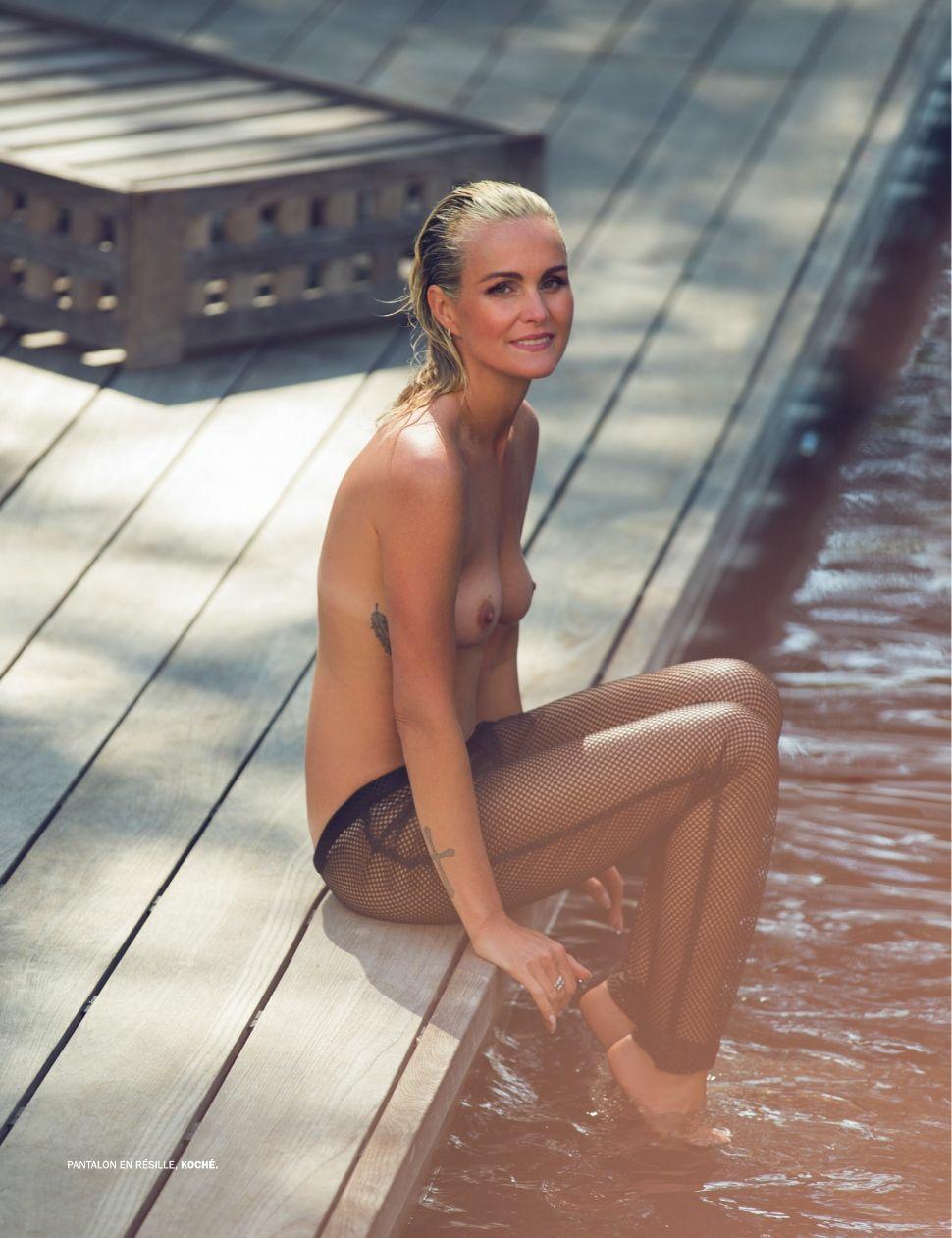 Nude Photos of Laeticia Hallyday