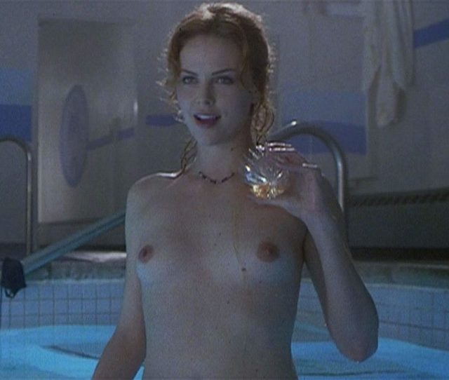 Charlize Theron Topless And Sexy