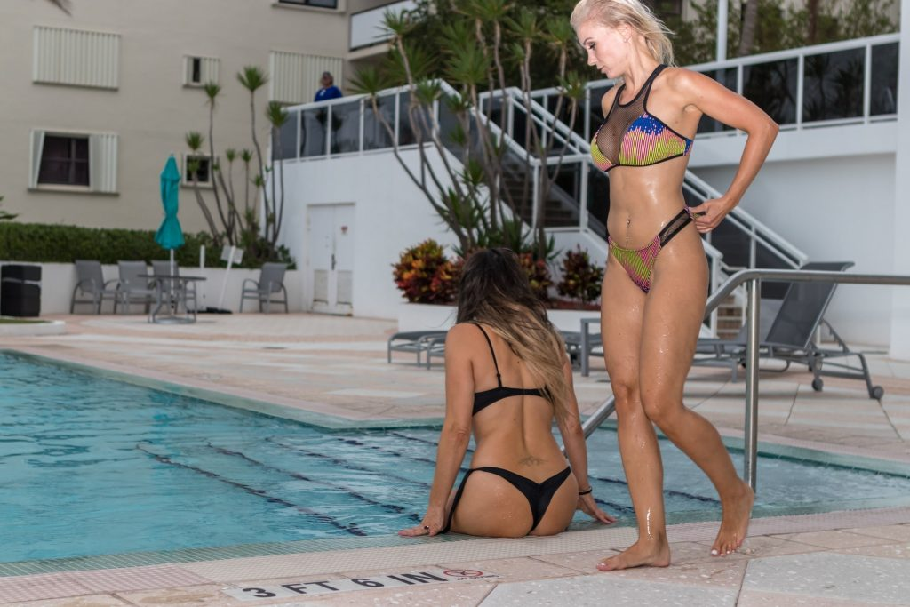 Claudia Romani & Jessica Edstrom Sexy