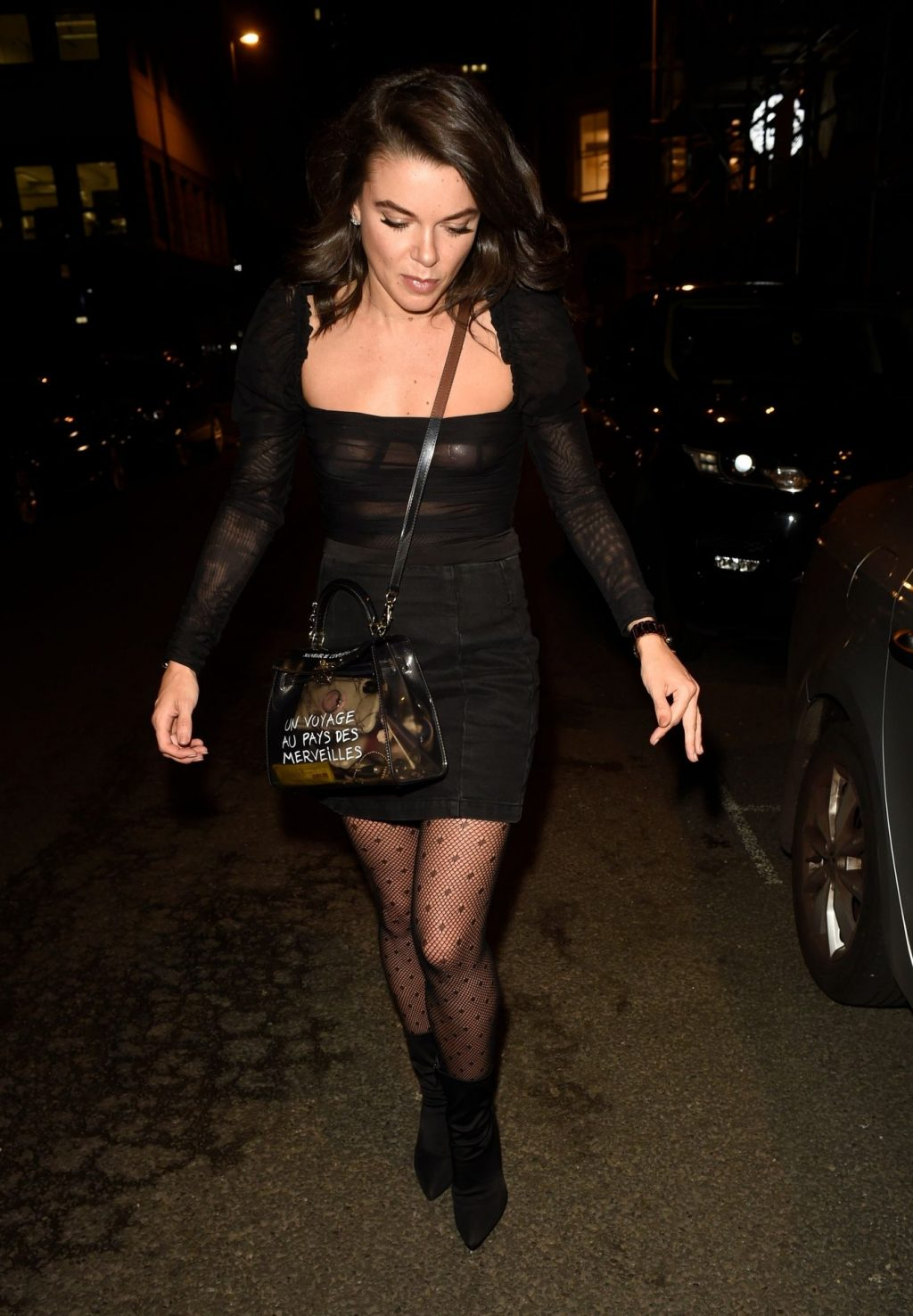 Faye Brookes See-Through