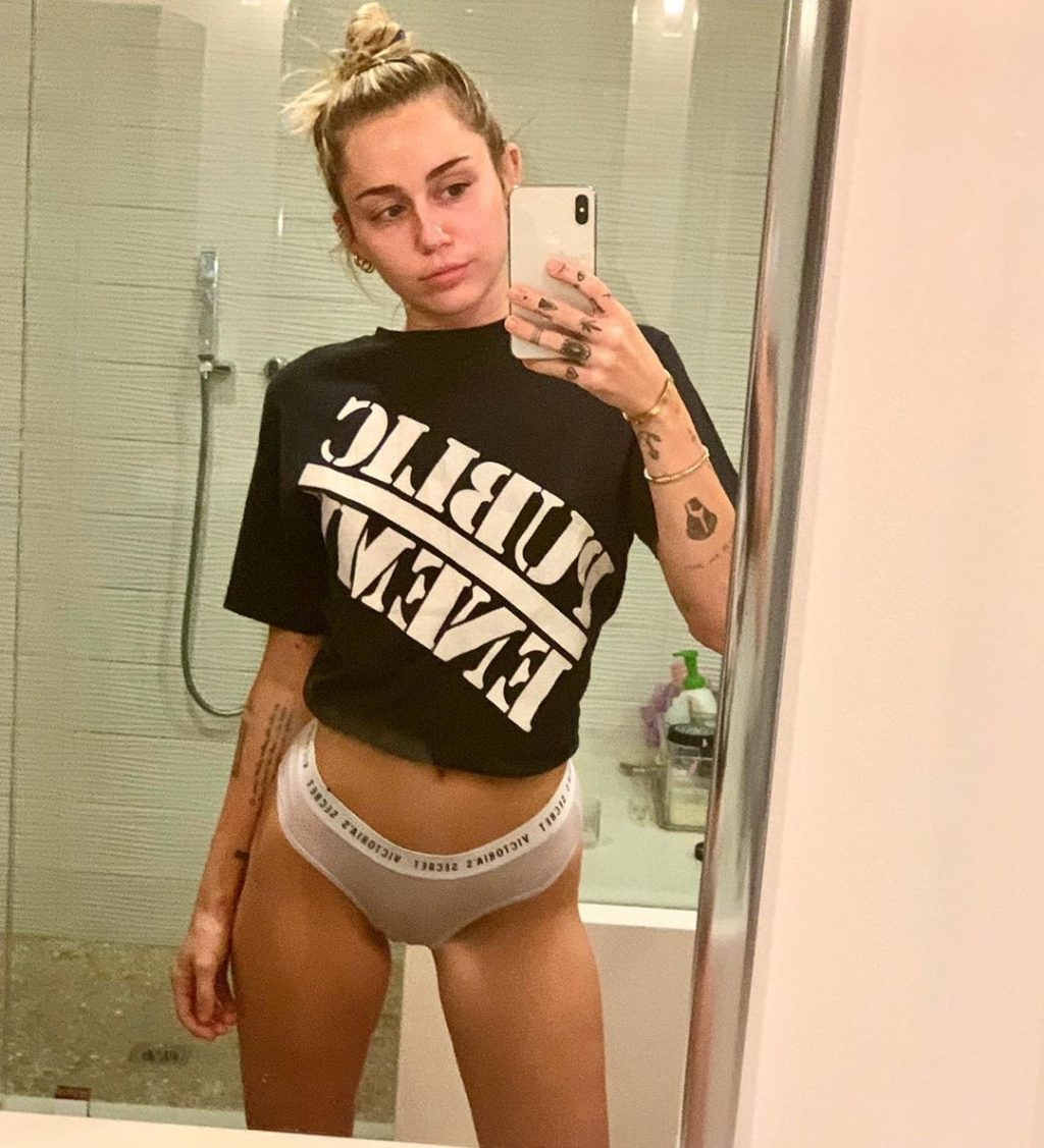 Miley Cyrus See-Through