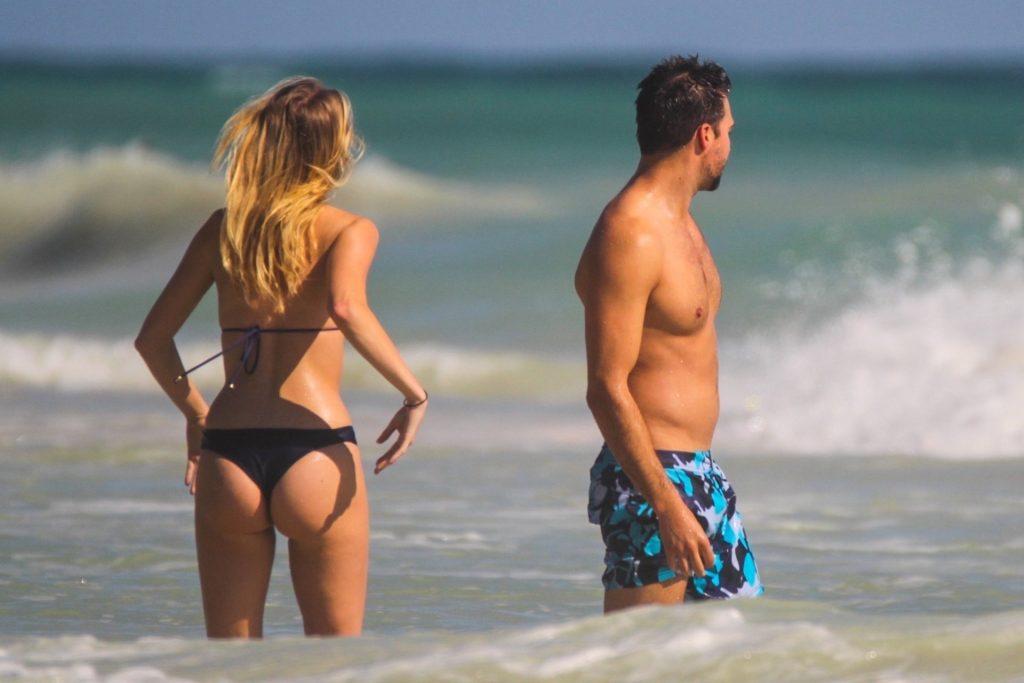Caitlin Spears Bikini