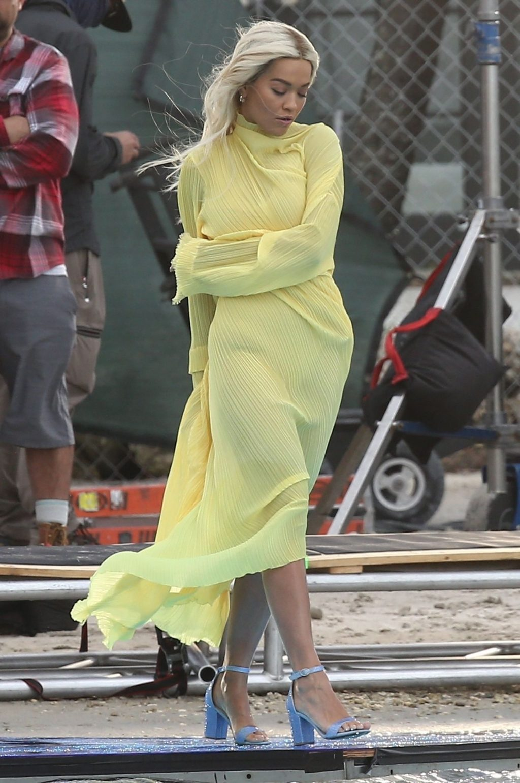 Rita Ora Upskirt