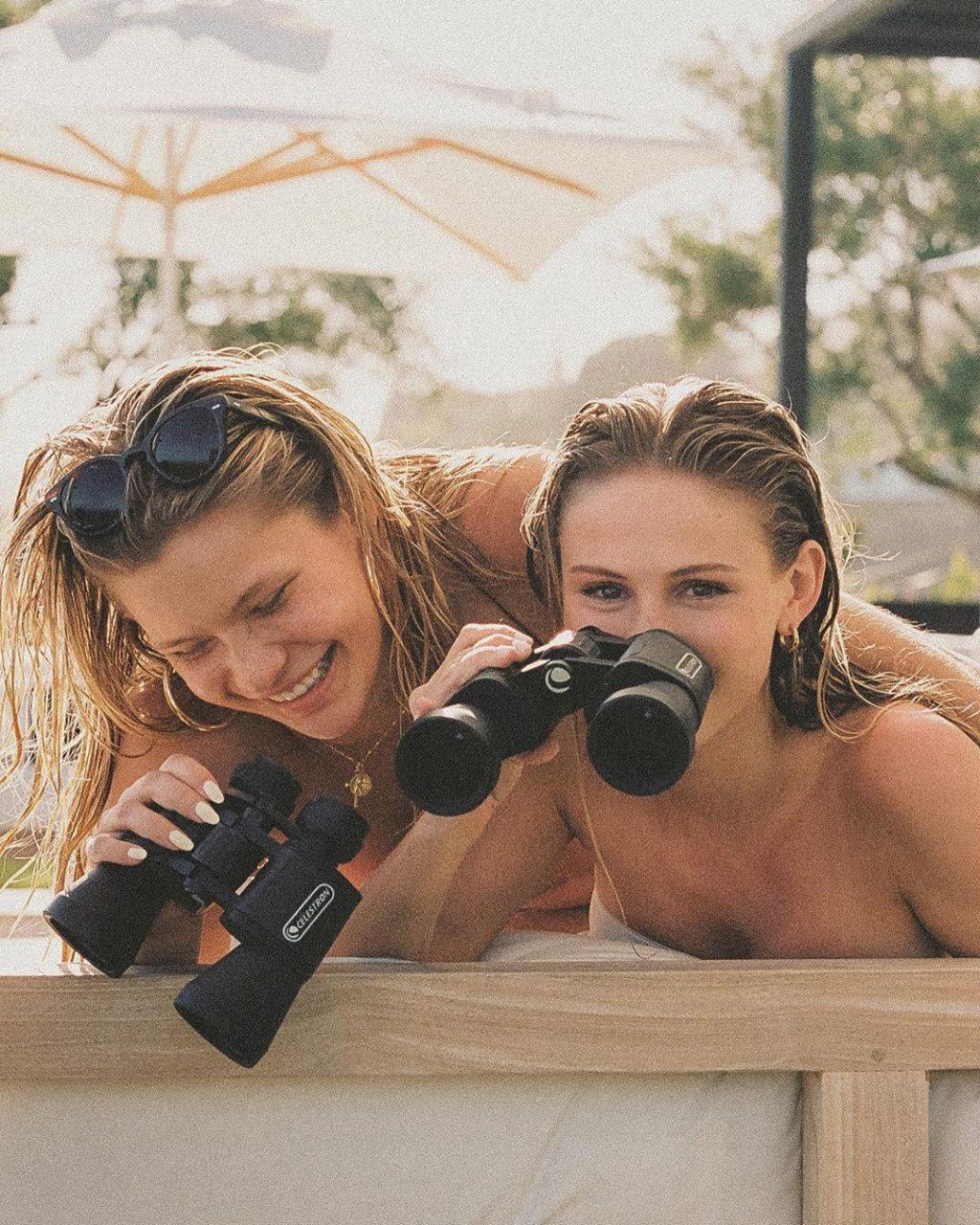 Josie Canseco & Scarlett Leithold See-Through