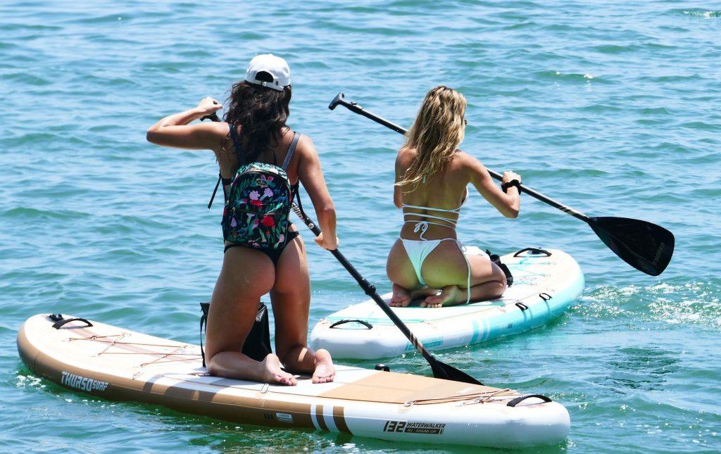 Cindy Prado & Lauren Goodman Bikini