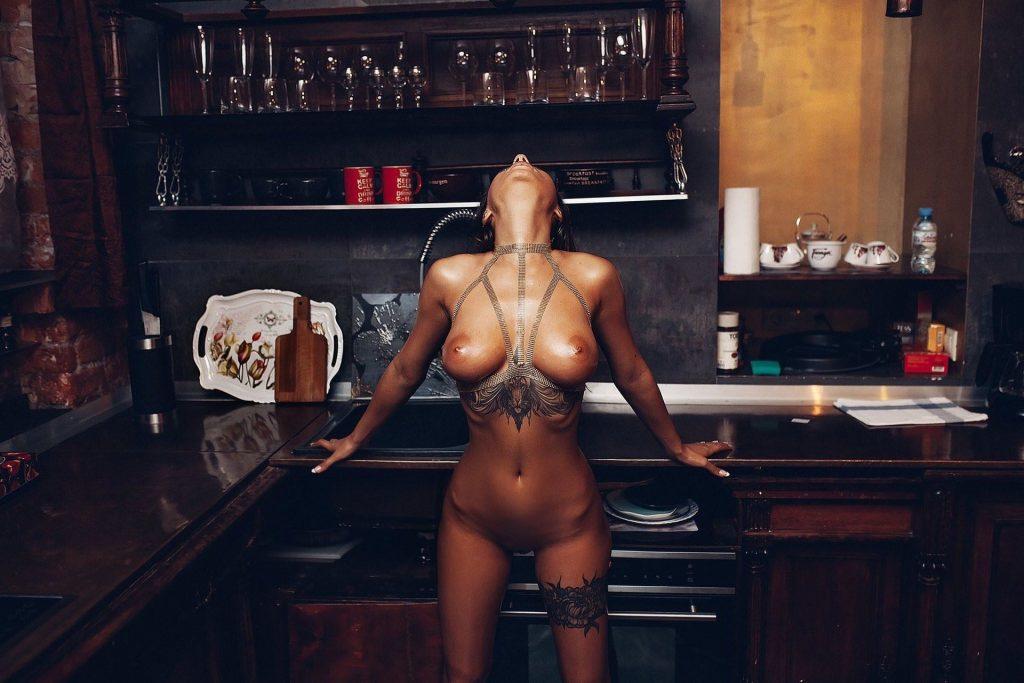 Liya Silver Naked