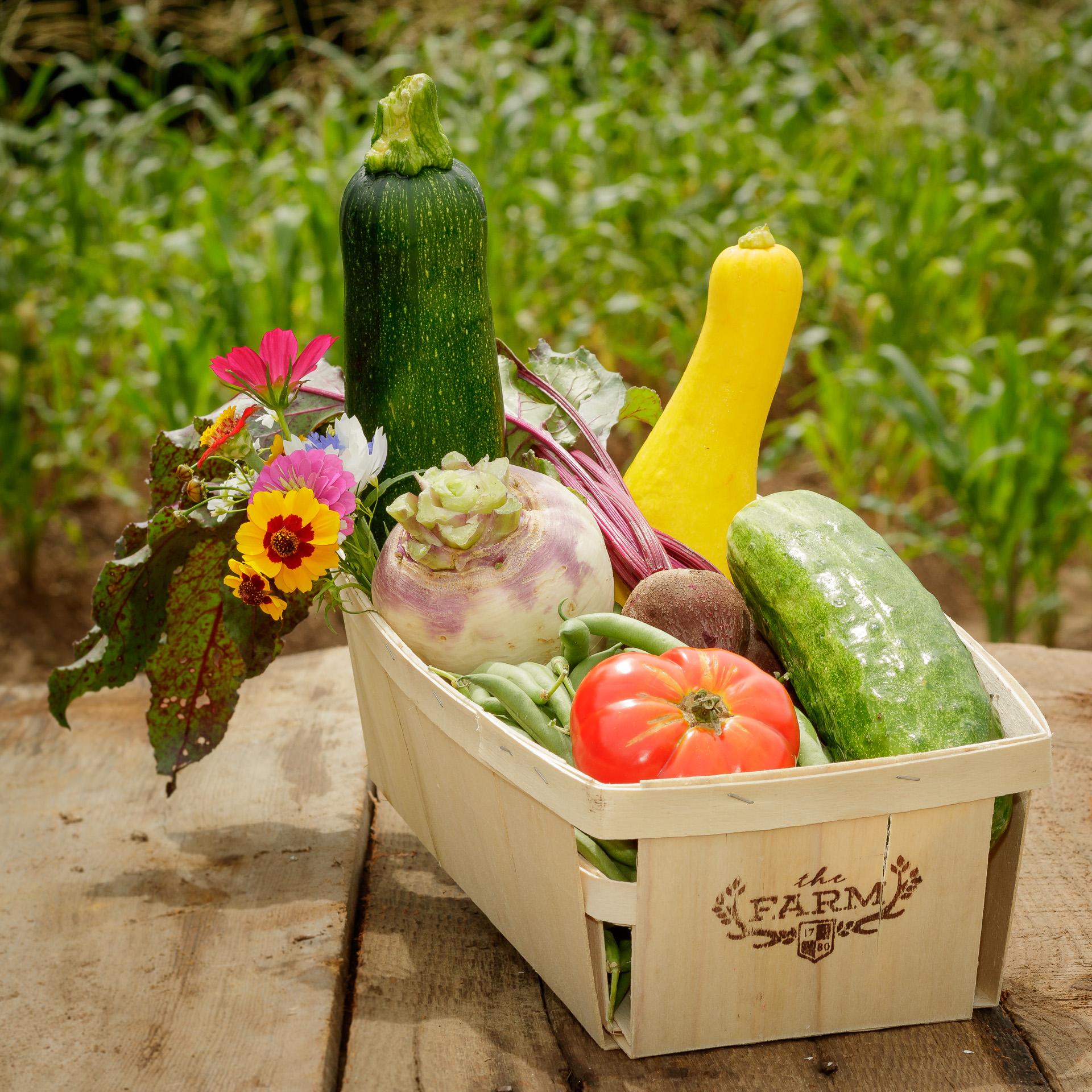 Fresh Seasonal Veggies