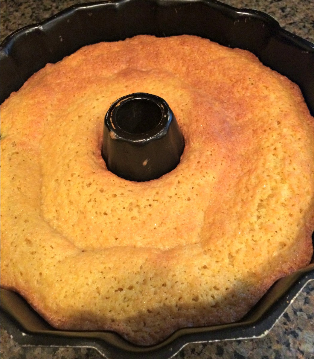 How to Get a Bundt Cake Out of the Stupid Pan
