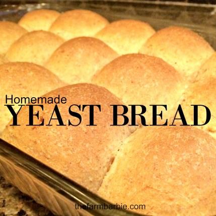 yeast bread 1.25