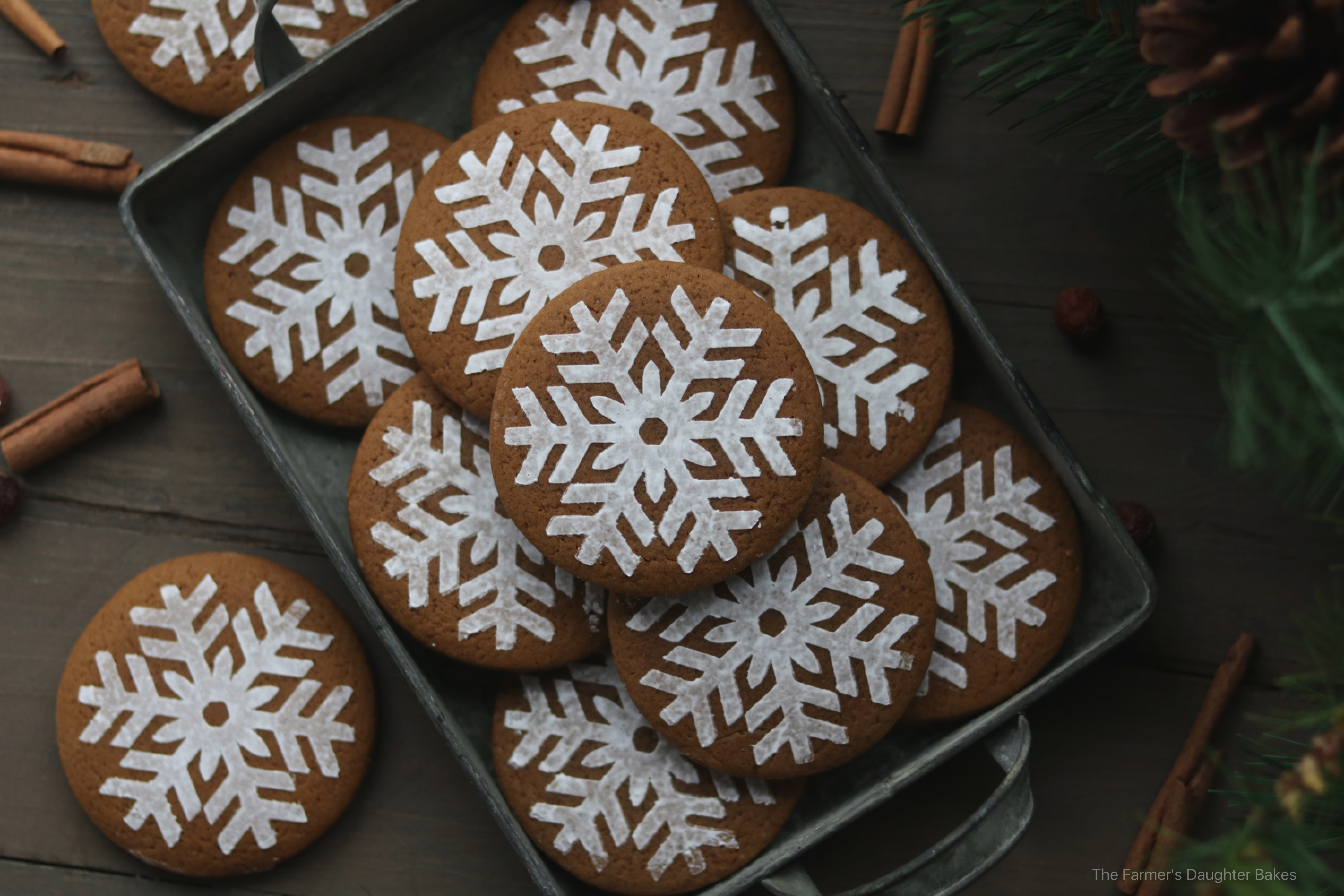 gingerbread, gingerbread cookies, soft gingerbread