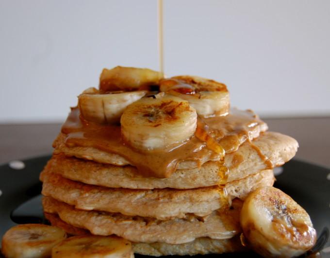 Egg White & Oat Protein Pancakes