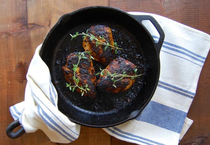 Cajun Rubbed Chicken