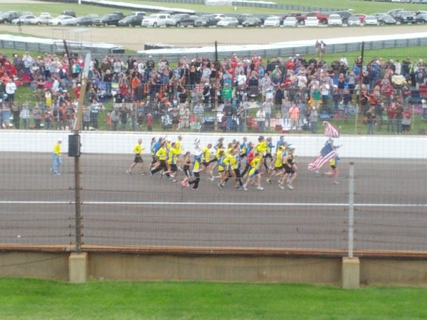 Boston Marathon Runners Indy 500