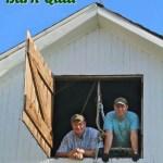 Raising the Barn Quilt via thefarmerslife.com