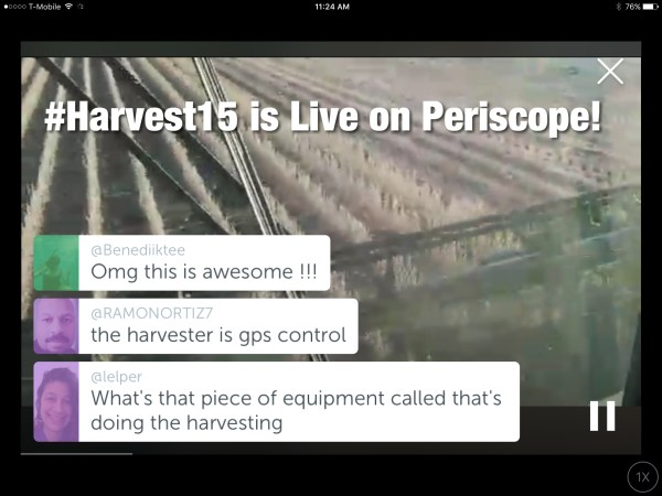 how to search for live periscope