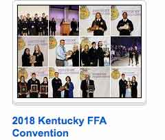 2018 KENTUCKY FFA CONVENTION BACK STAGE PHOTOS OF AWARD RECIPIENTS
