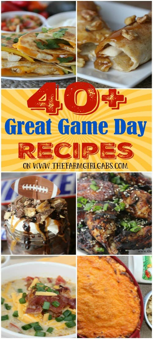 Game Day Collage - Short Pinterest