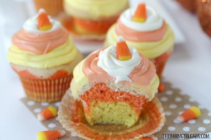 Doctored Up Yellow Cake Mix Cupcakes
