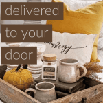 Yellow pillow and home decor items