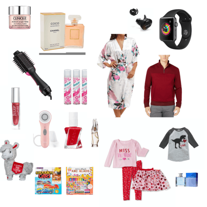Valentines day gift guide.