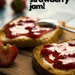 3 ingredient strawberry jam