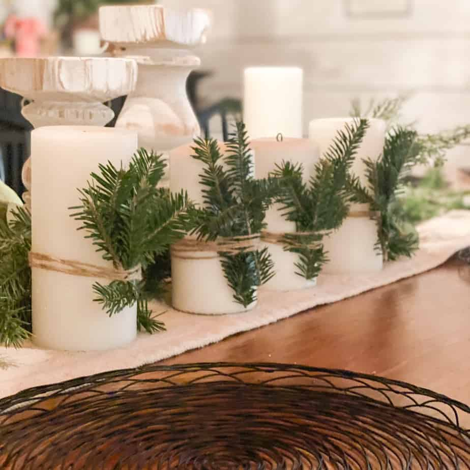 12 days of Christmas crafts: Day one – A DIY advent centerpiece