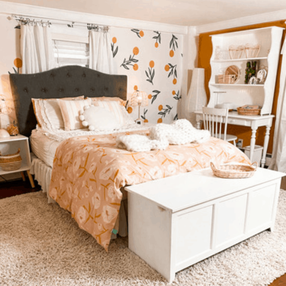 Bohemian Girls Room reveal and how-to