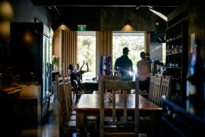 Relax and recharge at The Farm Shed East Coast Wine Centre at Bicheno on Tasmanias East Coast
