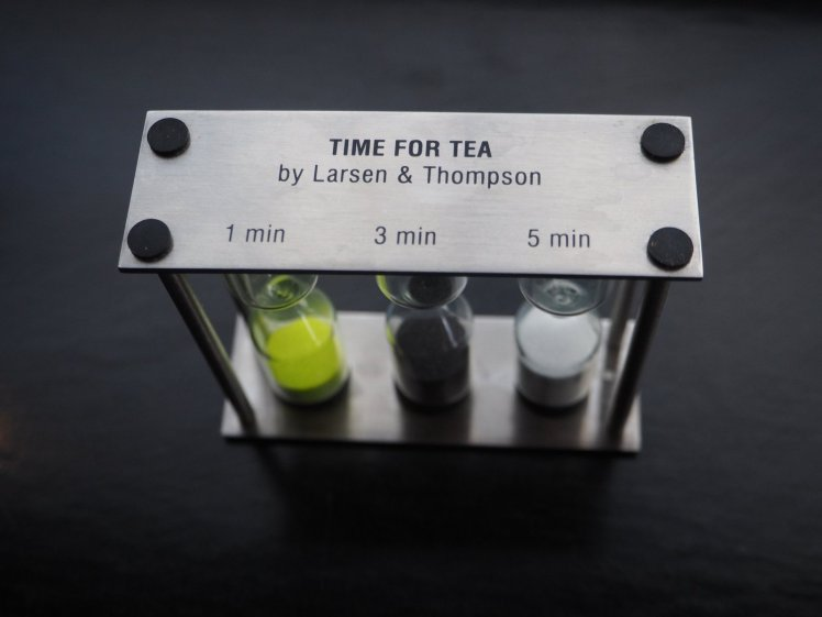 We take our tea seriously at The Farm Shed too, serving Larsen and Thompson teas, with a precision timer so you can brew it to your exact preference.