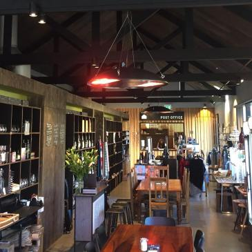 New energy and eco-friendly heaters at The Farm Shed