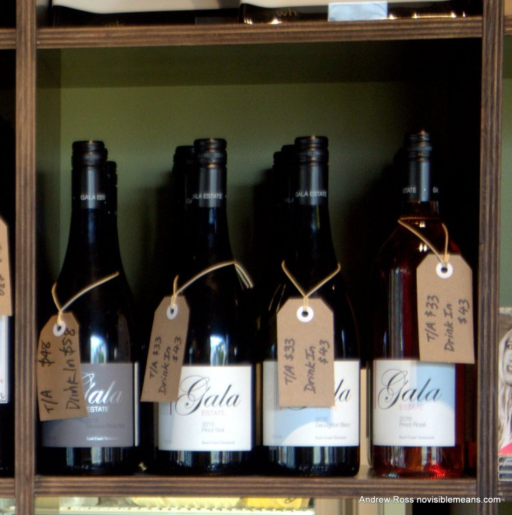 Wines from Gala Estate Vineyard