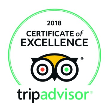 The Farm Shed has achieved a TripAdvisor 2018 Certificate of Excellence