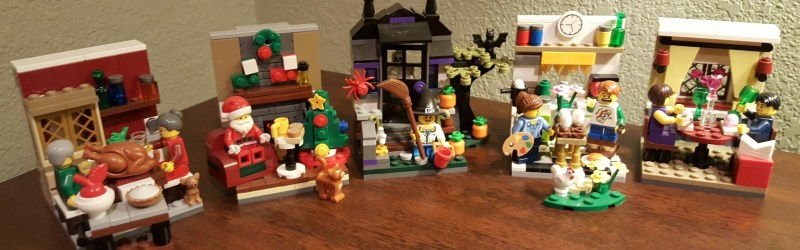 Great little Lego Seasonal's seem to have dried up