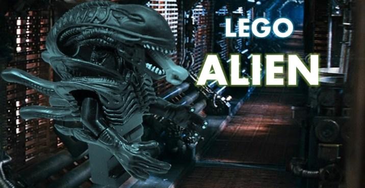 lego alien xenomorph Minifig