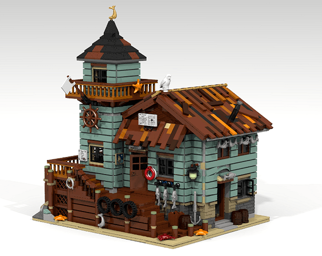 Lego Ideas – Speculations on why the Old Fishing Store Won