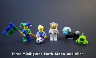 Lego Handheld Arcade figures