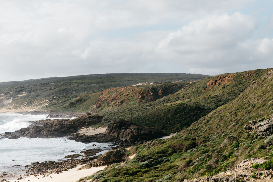 South-West Australia cape to cape track to the Quinninup falls.
