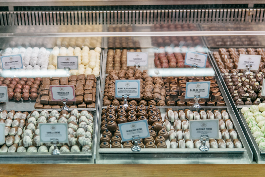 Truffles at Margaret River Chocolate Factory.