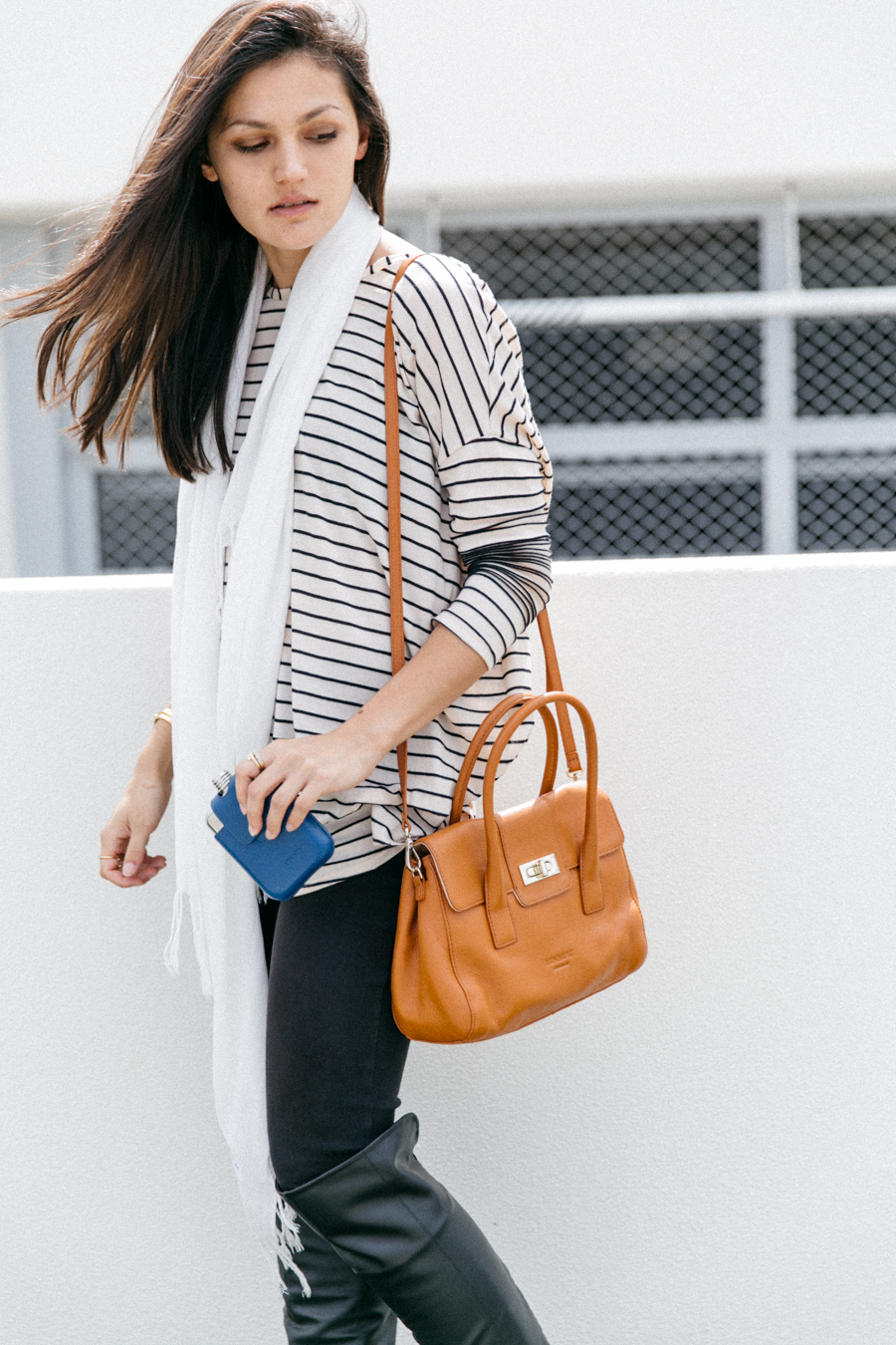 Minskat Copenhagen Helena mini bag. Weekend casual outfit.