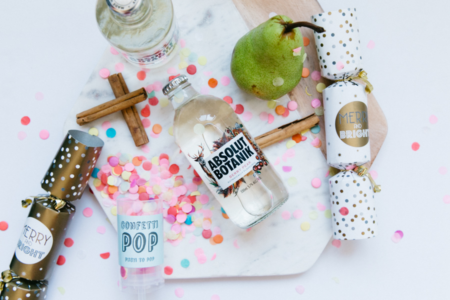 Confetti Pop & Absolut Botanik berry pear review.