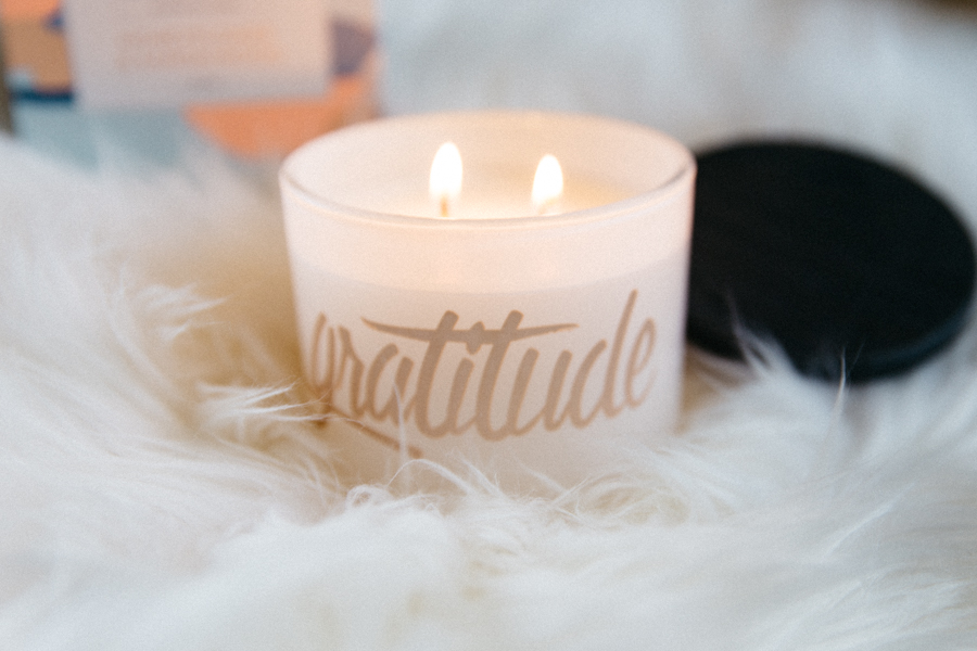 Double wick candle from Circa Home.