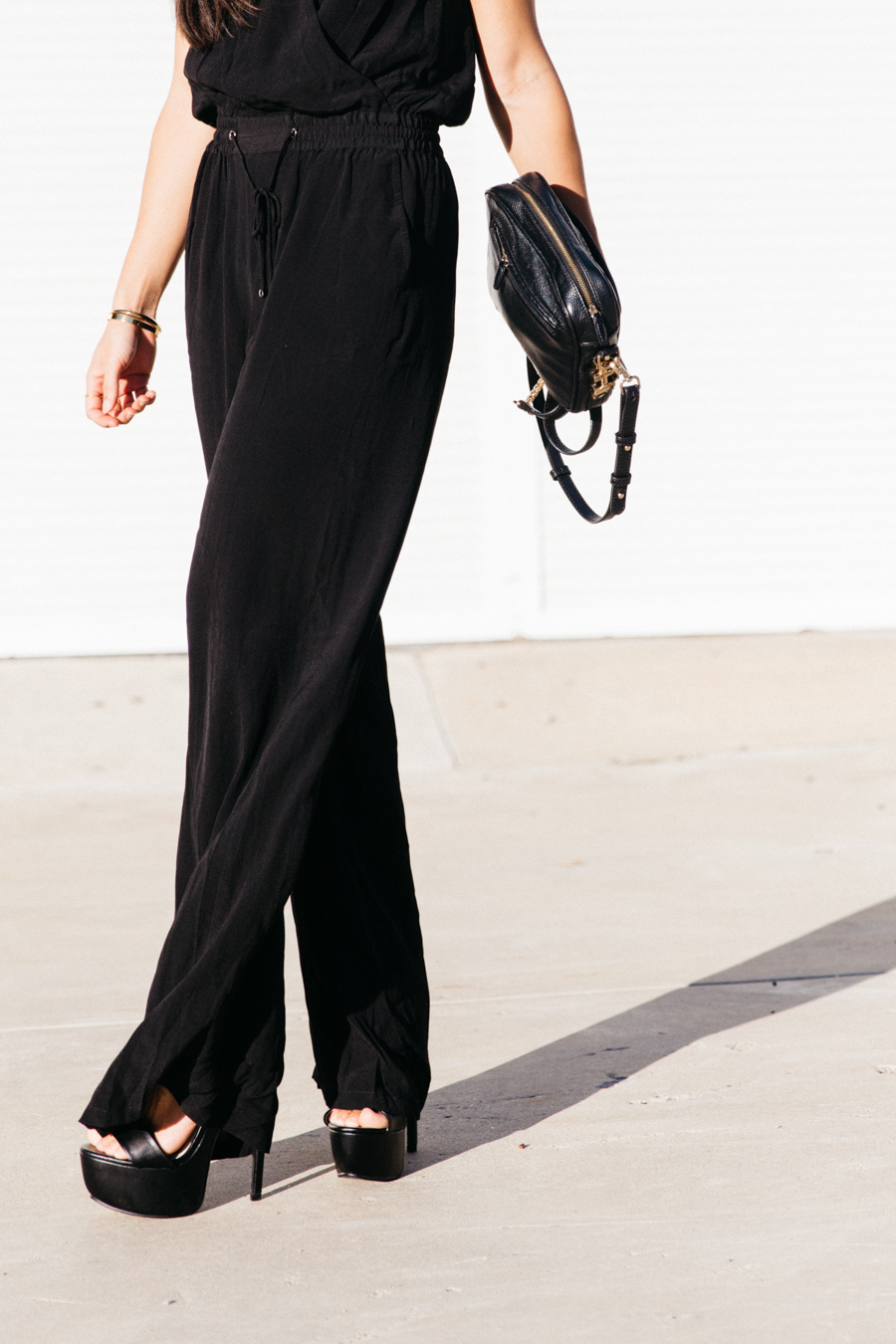 How to wear a jumpsuit.