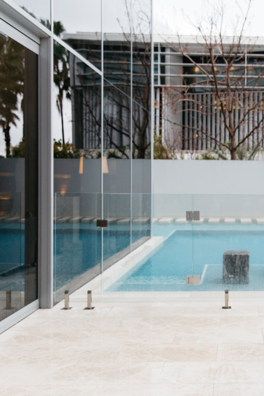 Crown Perth private pool.
