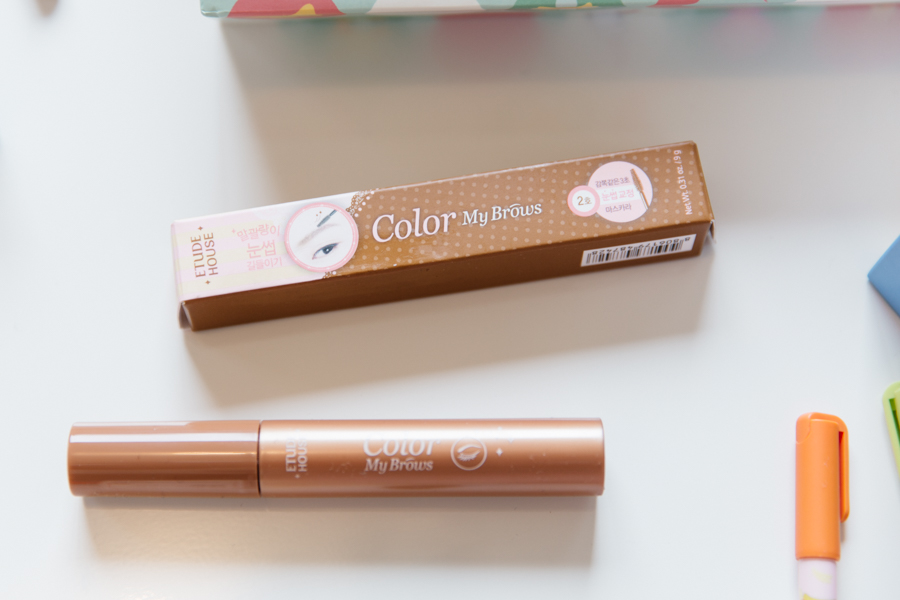 Etude House Colour My Brows, eye brow mascara.