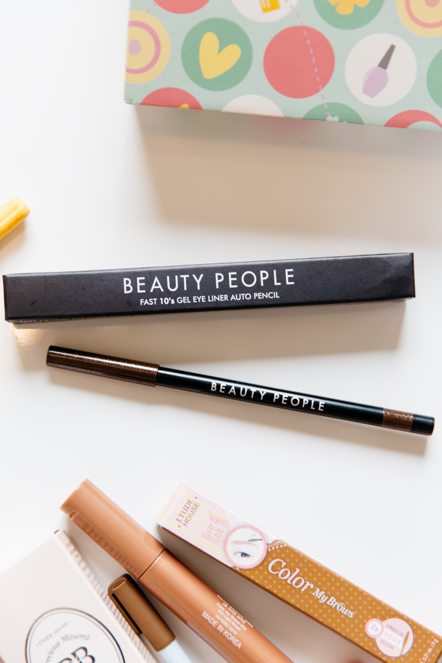 Beauty People eyeliner in diamond brown.