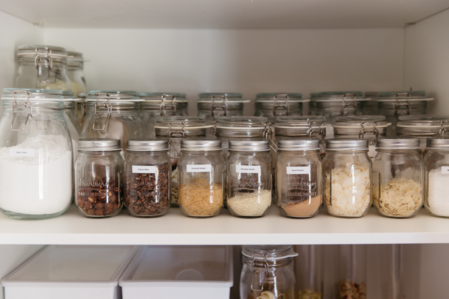 How to organise your pantry.