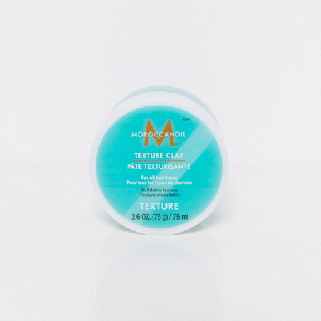 Moroccanoil texture clay review. Texture hair products.